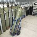 Hospital Patient Gas Cylinder Trolleys